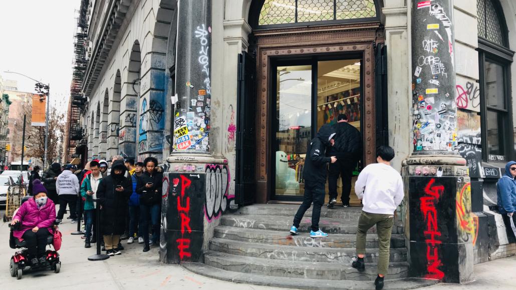 Supreme @ Spring & Bowery NYC